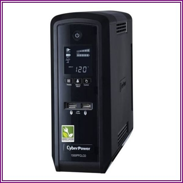 CyberPower Système d'alimentation sans coupure à écran CP1500PFCLCD from Dell Canada - Home & Small Business