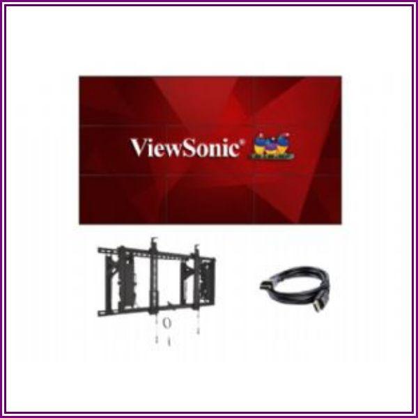 ViewSonic LDS CDX5552-B4 2X2 VIDEOWALLBUNDLE 4XCD from Tiger Direct