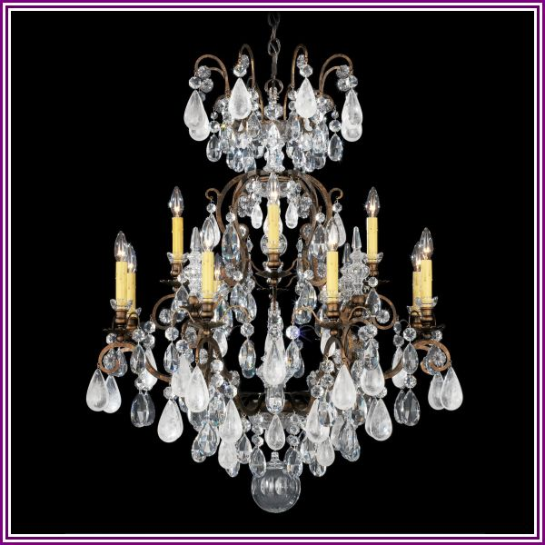 Schonbek Renaissance 32 Inch 13 Light Chandelier Renaissance - 3572-26OS - Colored Crystal from 1800lighting.com