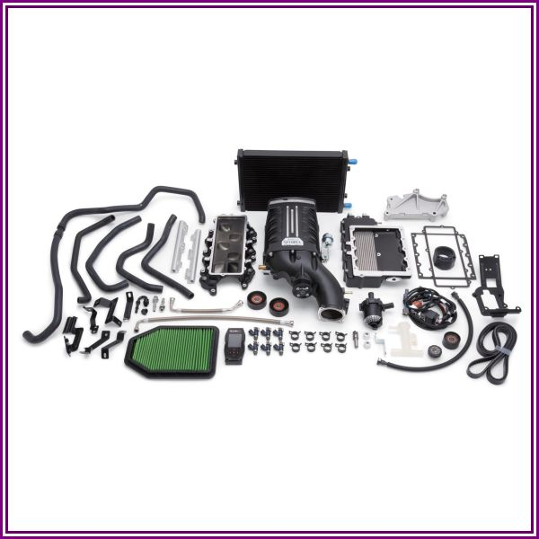 Edelbrock E-Force Supercharger Stage 1 Street Kit with Tuner - 1528 from Morris 4x4 Center
