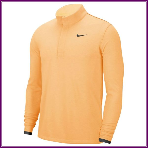 Nike Dri-Fit Victory Half Zip Mens Sweater College Navy/College Navy/White M from Worldwide Golf Shops