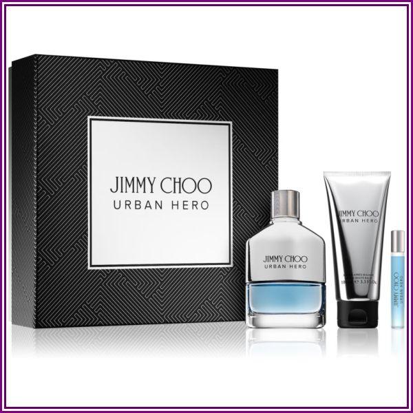 Jimmy Choo Urban Hero σετ δώρου EDP 100 ml + EDP 7,5 ml + βάλσαμο για μετά το ξύρισμα 100 ml για άνδρες from Parfimo.gr