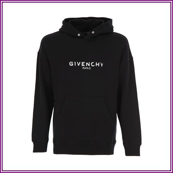 Givenchy Black Givenchy Paris Hoodie from SSENSE