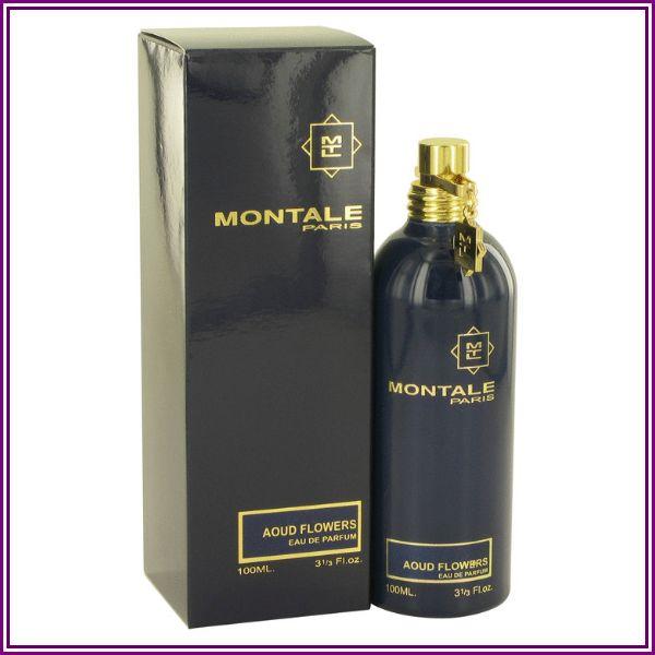 Montale Aoud Flowers Eau De Parfum Spray 3.3 oz from FragranceX.com