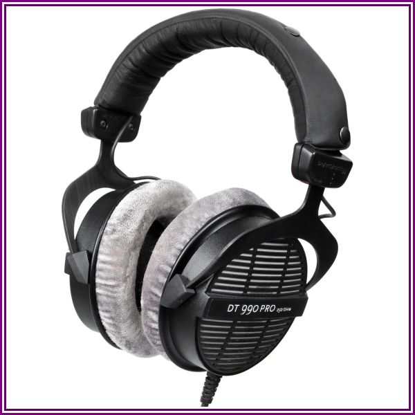 Beyerdynamic Dt 990 Pro Open Studio Headphones 250 Ohms from Beach Trading Co. (BeachCamera.com, BuyDig.com)