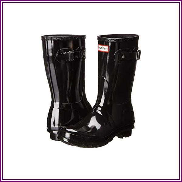 Hunter Original Short Gloss (Black) Women's Rain Boots from Zappos.com