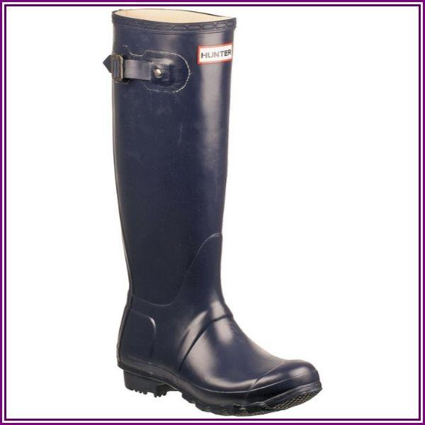Hunter Original Tall (Navy) Women's Rain Boots from Zappos.com