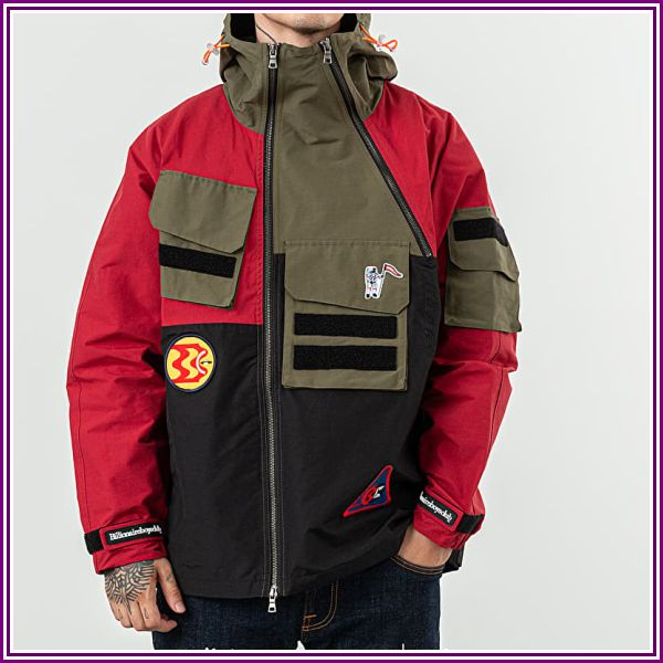 Billionaire Boys Club Expedition Training Jacket Red from Footshop DE & AT