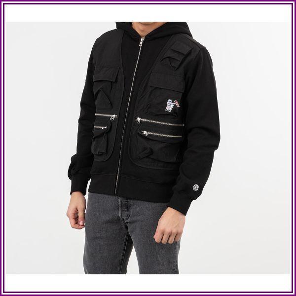 Billionaire Boys Club Tactical Zip Through Hoodie Black from Footshop DE & AT