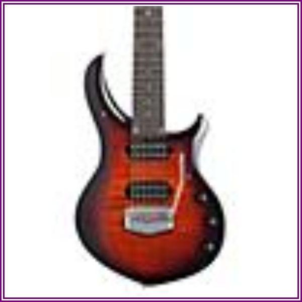 Ernie Ball Music Man John Petrucci Majesty 7 Tiger Eye Electric Guitar Tiger Eye from Music & Arts