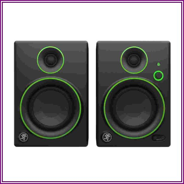 Mackie CR4BT 4in 2Way Powered Studio Monitors Pair from Beach Trading Co. (BeachCamera.com, BuyDig.com)
