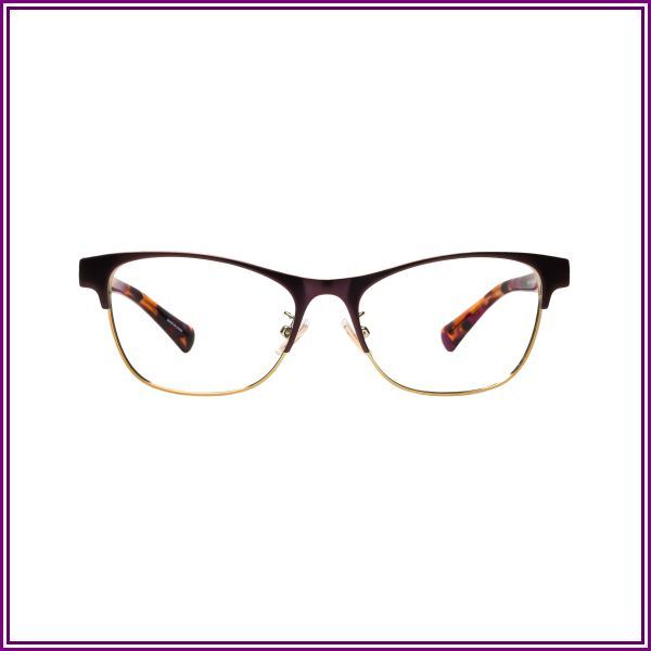 Coach HC5074 9241 (54) Eyeglasses and Frame in Satin Purple/Gold | Acetate/Plastic/Metal - Online from Clearly AU and NZ
