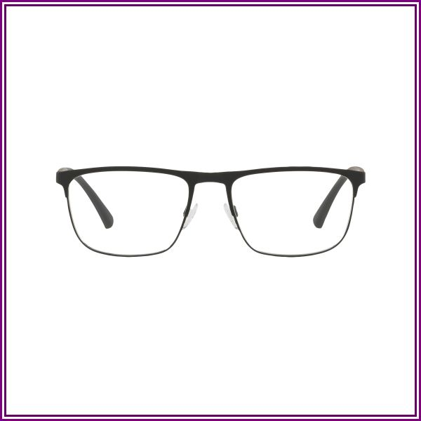 Emporio Armani EA1079 3094 (55) Eyeglasses and Frame in Black Rubber | Plastic/Metal from Clearly AU and NZ