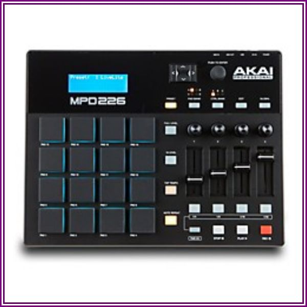 Akai MPD226 Drum Pad Controller from zZounds