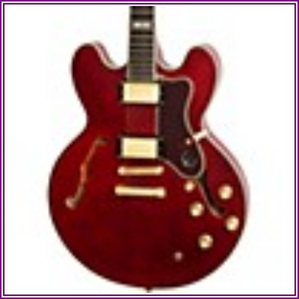 Epiphone Sheraton II PRO Gold HW Wine Red from zZounds