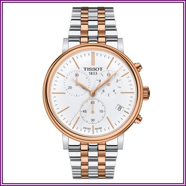 Tissot Carson Premium Chronograph - T1224172201100 (Two-Tone) Watches from uhrcenter - DE