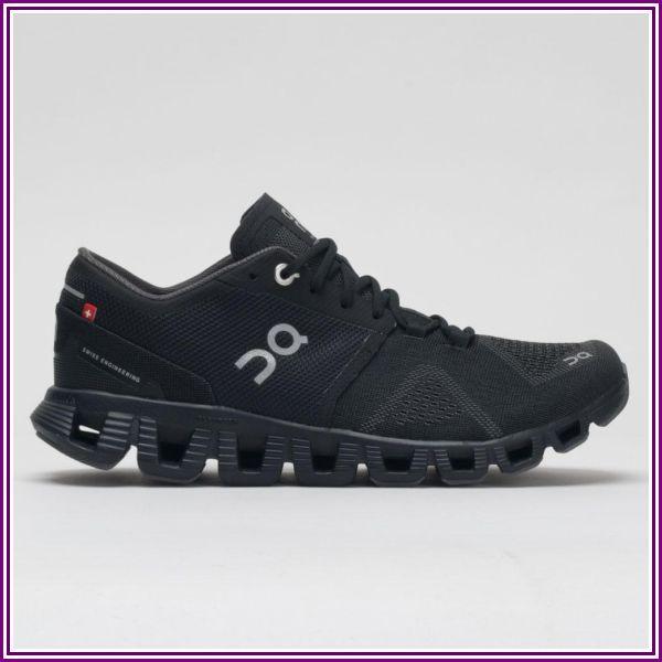 On Cloud X (Black/Asphalt) Women's Shoes from Zappos.com