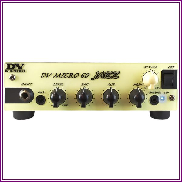 Dv Mark Dv Micro 60 Jazz 60W Guitar Amp Head Black And Beige from Music & Arts