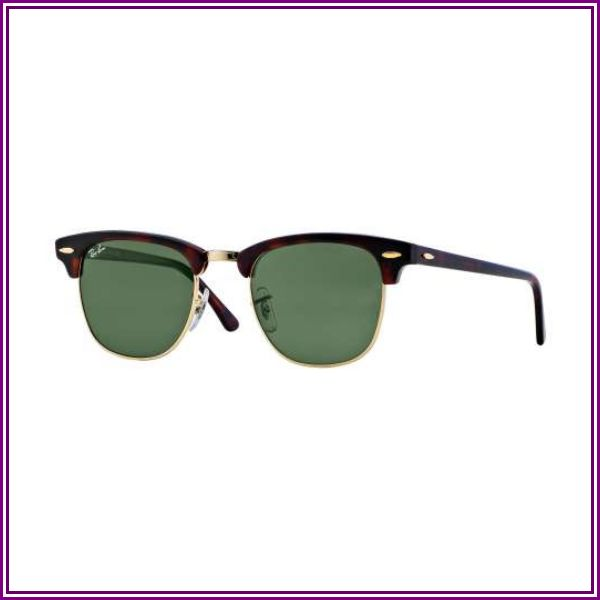 Ray-Ban RB3016 - Clubmaster Sunglass Frame from Zappos.com