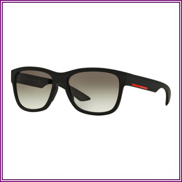 PS 03QS Sunglasses Black Rubber from VISUAL CLICK