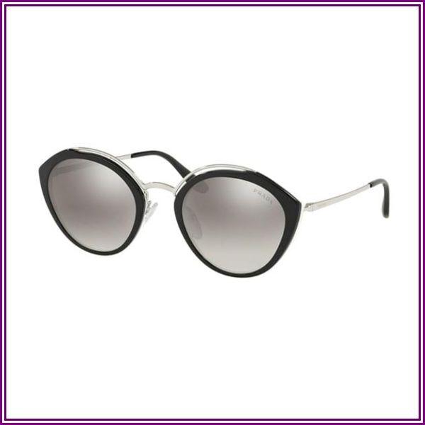 Prada PR 18US 4BK5O0 Black/Ivory/Silver from VISUAL CLICK
