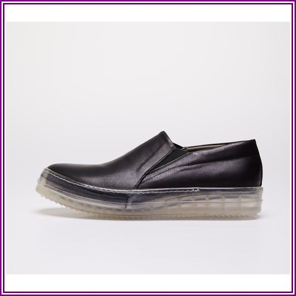 Rick Owens No Cap Boat Sneakers Black from Footshop DE & AT