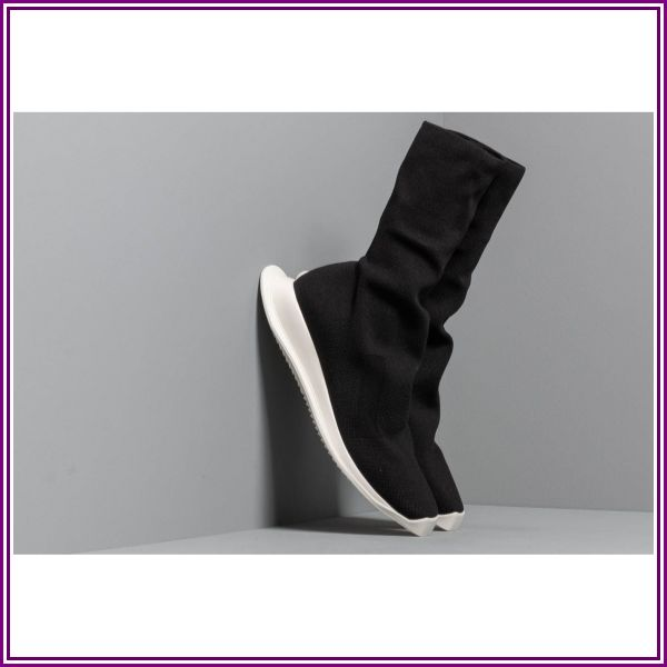 Rick Owens DRKSHDW Runner Stretch Sock Low Black/ Milk/ Milk from Footshop DE & AT