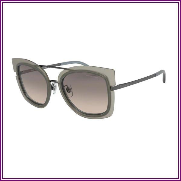 Giorgio Armani AR6090 301013 Matte Gunmetal/TOP Beige Azure from SmartBuyGlasses