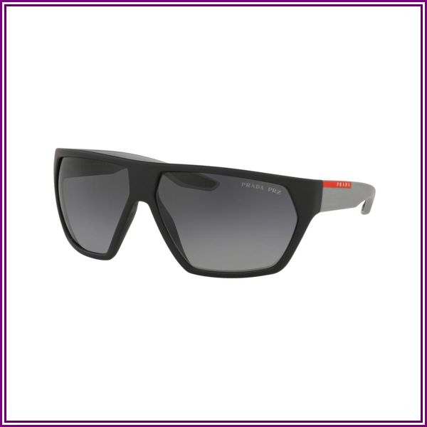 Prada Linea Rossa Active PS 08US 4535W1 Black Rubber from VISUAL CLICK