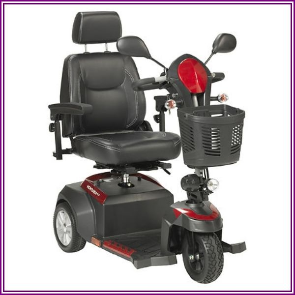 """Drive Ventura 3 Wheel Scooter with Captain Seat, 20"""" from MedEx Supply"""