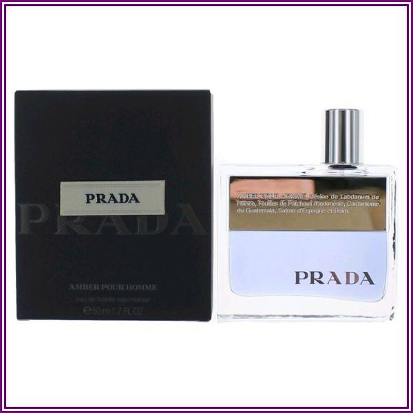 Prada Amber by Prada, 1.7 oz EDT Spray for Men from FragranceX.com