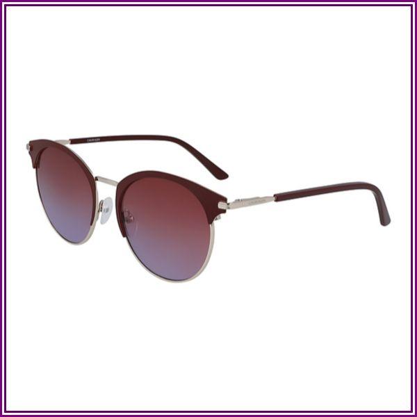CK 19310S Sunglasses (605) SATIN BURGUNDY from Eyeconic