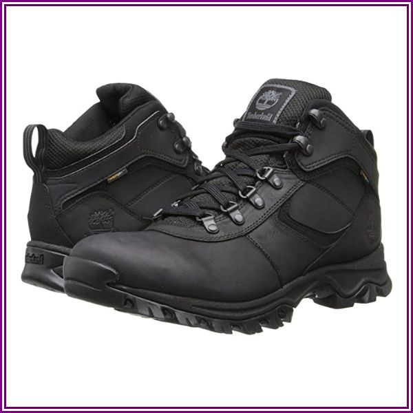 Timberland M MT. MADDSEN WP MID-BLACK-10 from Zappos.com