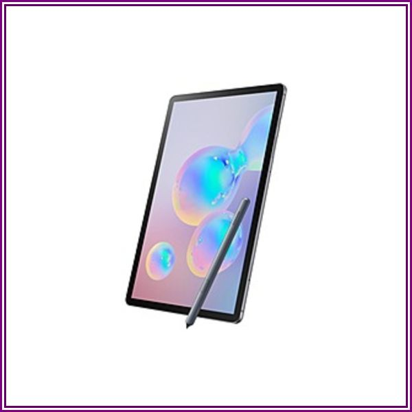 Samsung Galaxy Tab S6 10.5 (2019) Wi-Fi 128GB - Mountain Gray - SM-T860NZAAXAR from Tech For Less