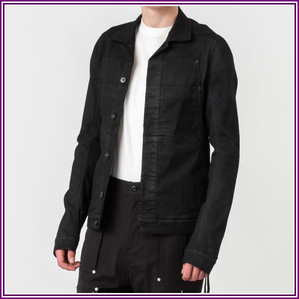 Rick Owens Giacca In Denim Jacket Black from Footshop DE & AT