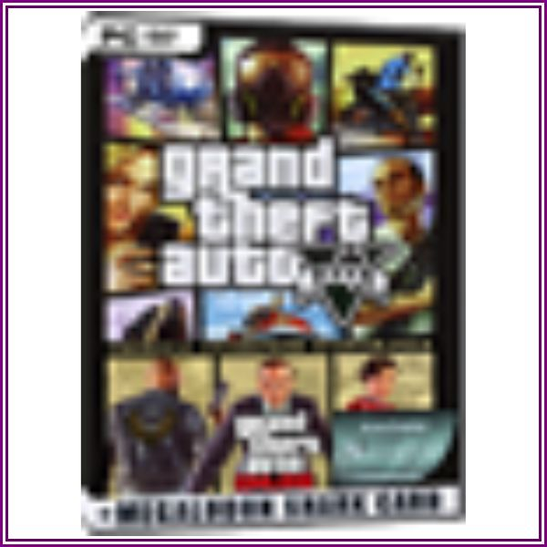 GTA 5 + Criminal Enterprise Starter Pack + Megalodon Shark Card Bundle from MMOGA Ltd. US